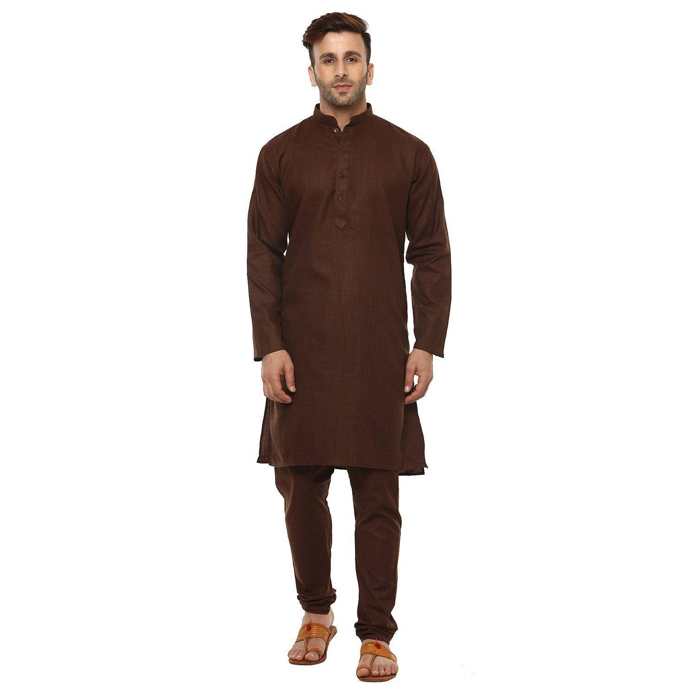 71c8138daf Round Neck Cotton Blend Kurta Pajama For Men's. 20+ Designs and colors  available. #KurtaPajama #RoundneckKurta