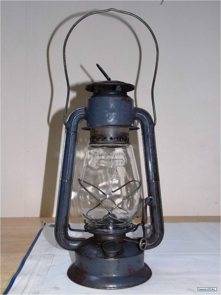 Fotos De Lampara O Quinque Antiguo Ferrocarril Dietz De 1948 Old Lanterns Lamp Kerosene