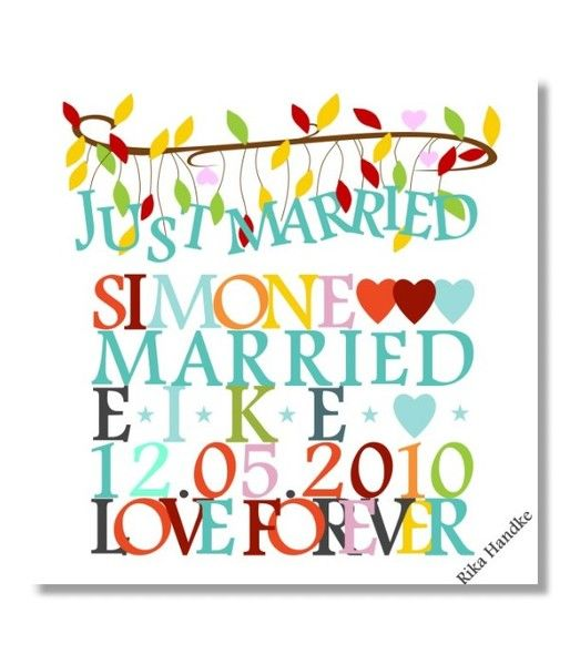 Hochzeitsgeschenke Personlich Geschenk Hochzeit Von Personalisierte