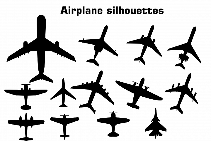 Airplane Aeroplane Airplane Silhouettes Aeroplane Silhouettes Silhouettes Airplane Clipart Airpla Airplane Silhouette Airplane Illustration Silhouette Clip Art