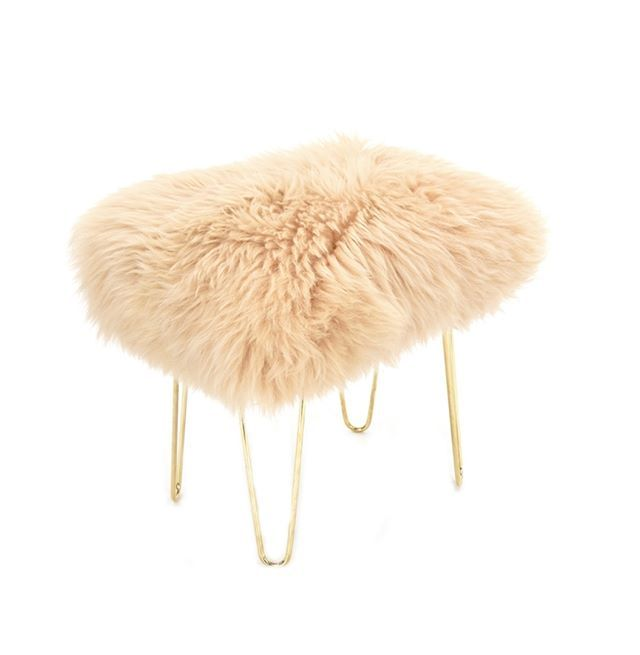 Perfect Completely U0027eweu0027 Nique And Sumptuously Soft To The Touch! 😋 😍 . .  #Baastool #footstool #sheepskin #furniture #sheep #handcrafted #luxury ... Design Ideas