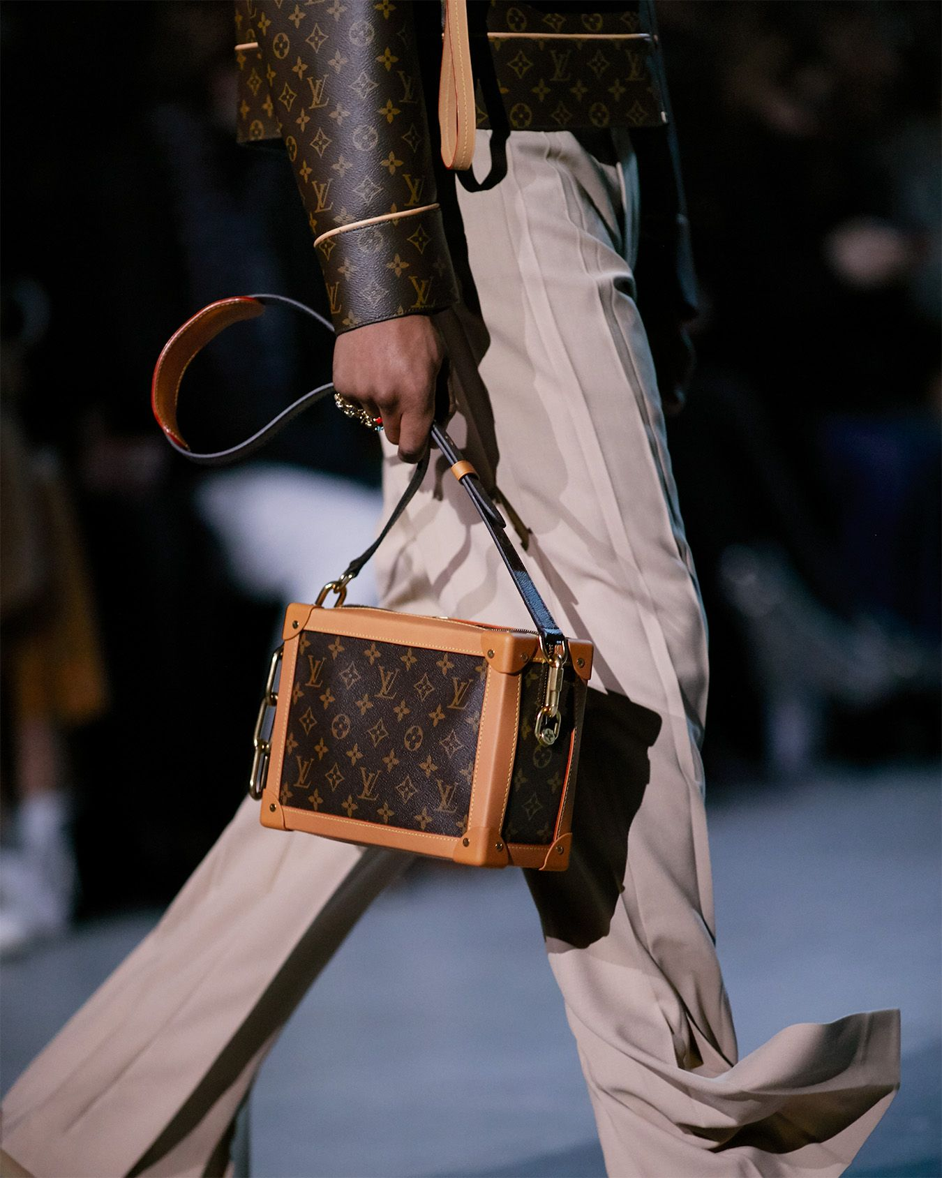 ccb12569fc7 A bag from the Louis Vuitton Men's Fall-Winter 2019 Fashion Show by ...