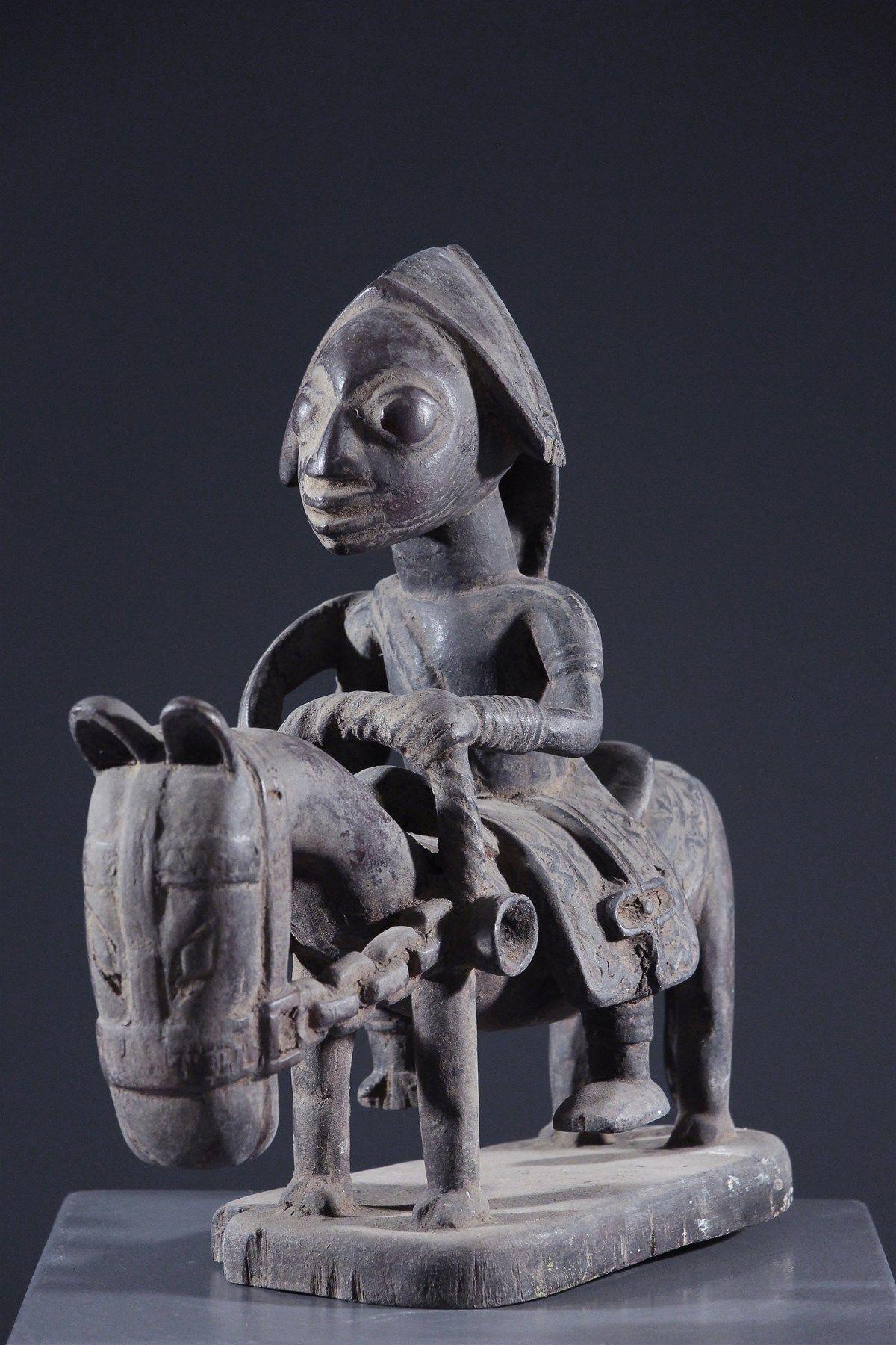 Cavalier Yoruba art africain Pinterest