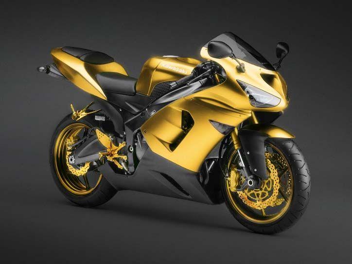Картинки для телефона золотой мотоцикл