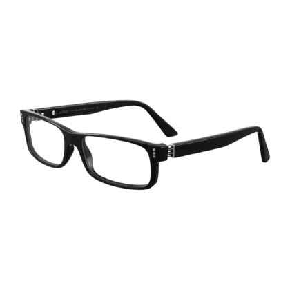 54bb25b8a6 Collection Première Cartier - Black composite, ruthenium finish - Fine  Prescription glasses for men - Cartier
