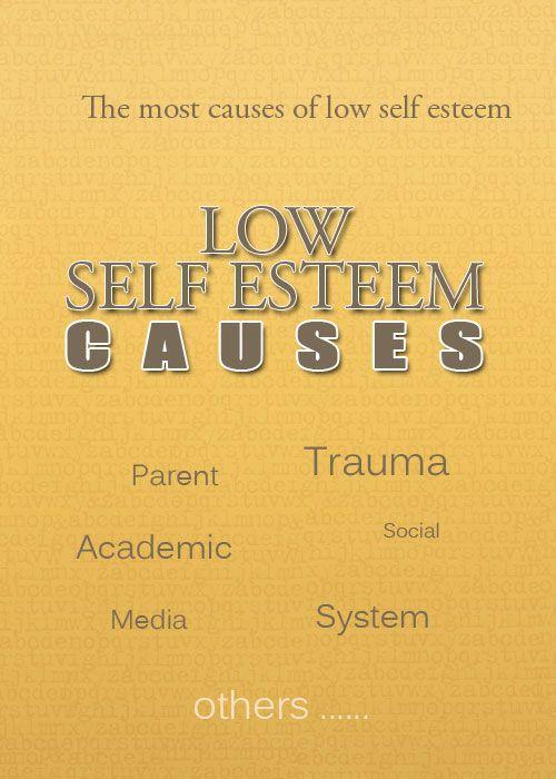 low self esteem in children causes