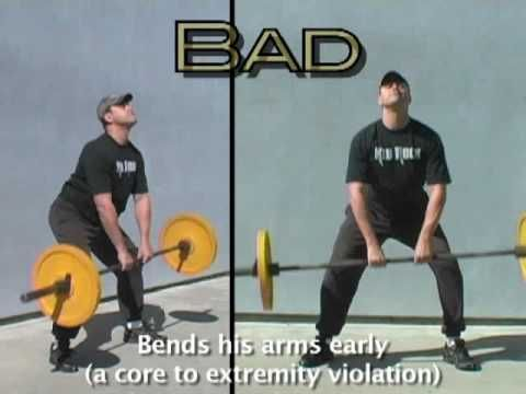 Cross Fit Workouts Supplement Videos On Good Bad Form