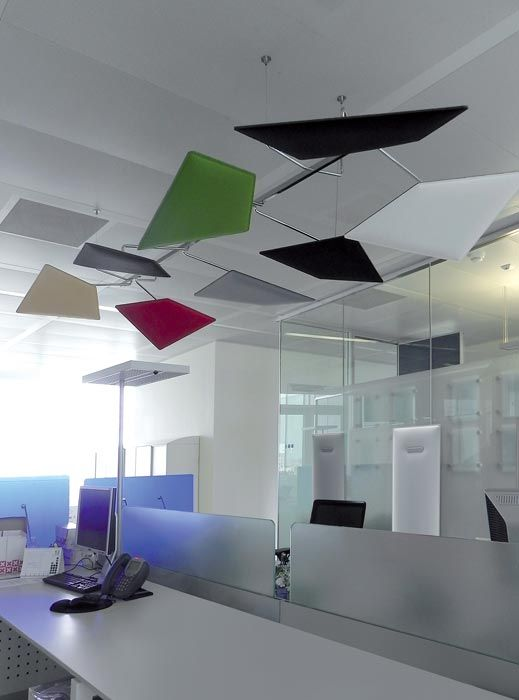 Mitesco Flap panels | Acoustic baffles