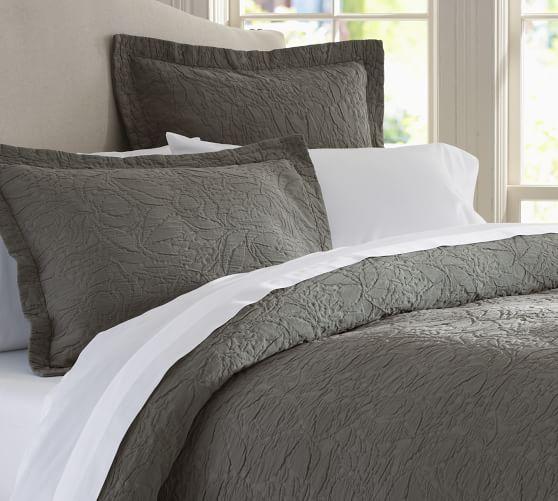 Valerie Floral Matelasse Sham White Duvet Bedroom Duvet Blue