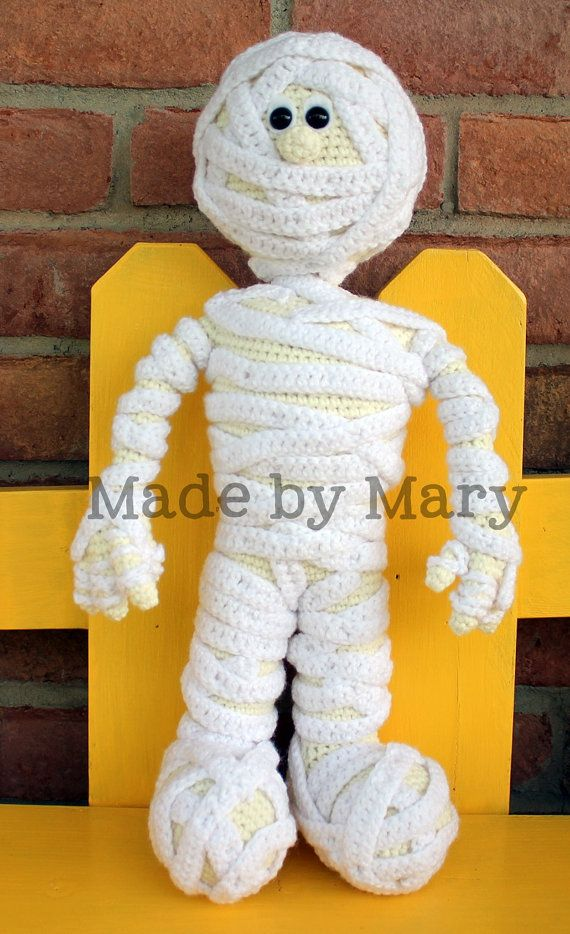 PDF PATTERN: Morris the Mummy *Crochet Pattern Only, Not Actual Doll ...