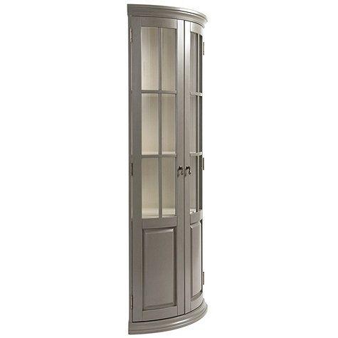 Chilton Glass Door Corner Cabinet Corner Cabinet Bathroom Corner Cabinet Corner Linen Cabinet