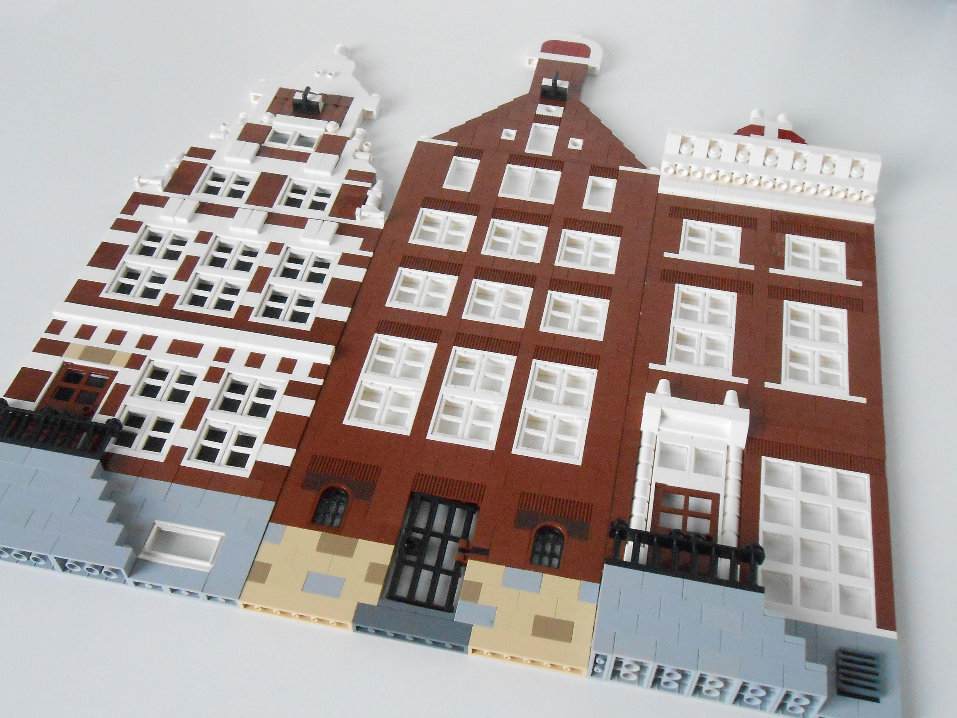 Pin by Claudia Kouwenhoven on Lego | Brick facade, Brick, Facade