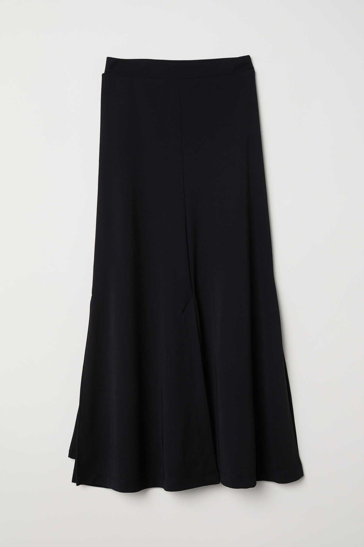 ee6e822e97 Calf-length skirt | Black | LADIES | H&M AU | Wish List - H&M | Calf ...