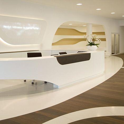 Hall d 39 accueil architecture bureaux pinterest for Meuble allemand contemporain