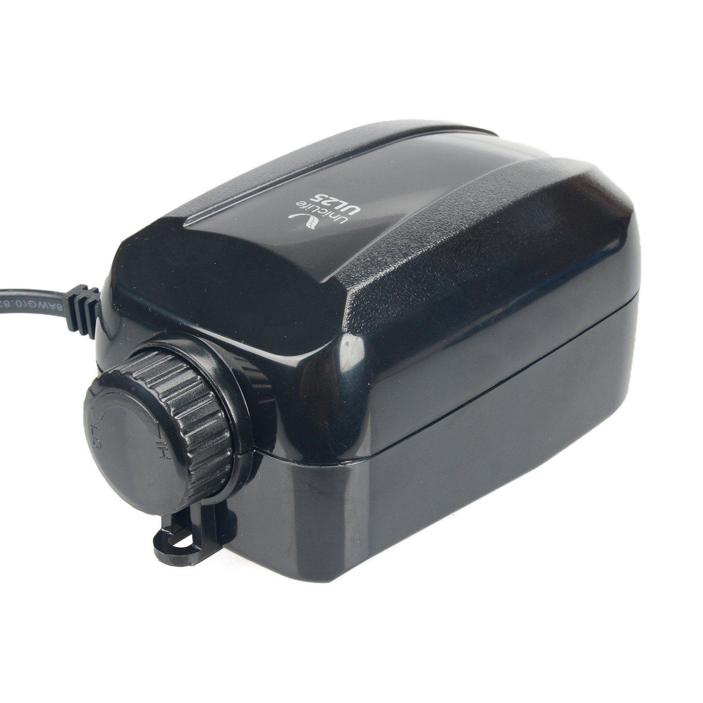 Uniclife Aquarium Adjustable Air Pump Single 2 L/min 2.5 W