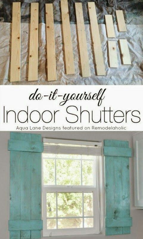 Barn Door Style Indoor Shutters For The Bathroom Diy Interior Window Shutters Indoor Shutters Interior Window Shutters