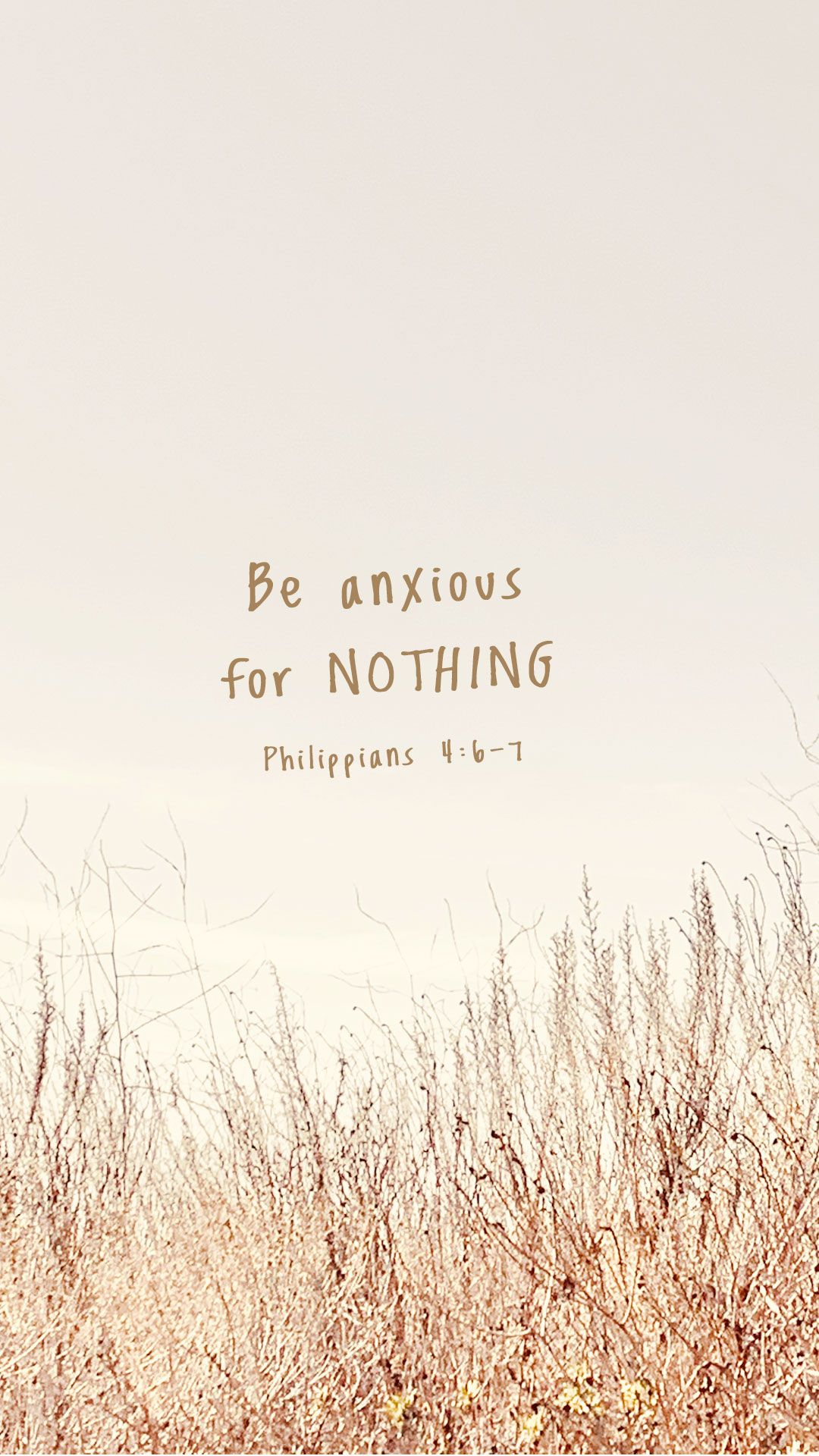 Be anxious for nothing, but in everything by PRAYER and supplication, with THANKSGIVING, let your requests be made known to God; and the PEACE of God, which surpasses ALL understanding, will guard your hearts and minds through CHRIST JESUS.