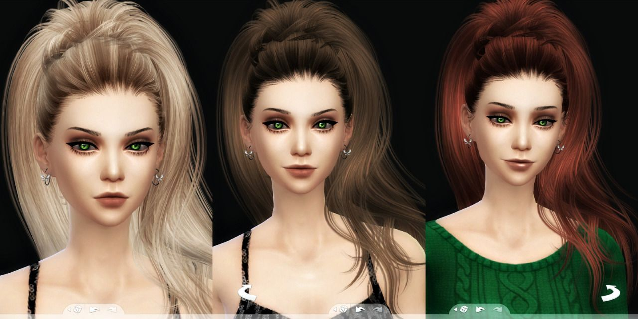 The sims 4 hairstyles cc - Aphrodite Hair For The Sims 4