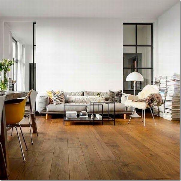 Photo of case e interni – scandinavo – semplicità – calore pavimento legno (1)