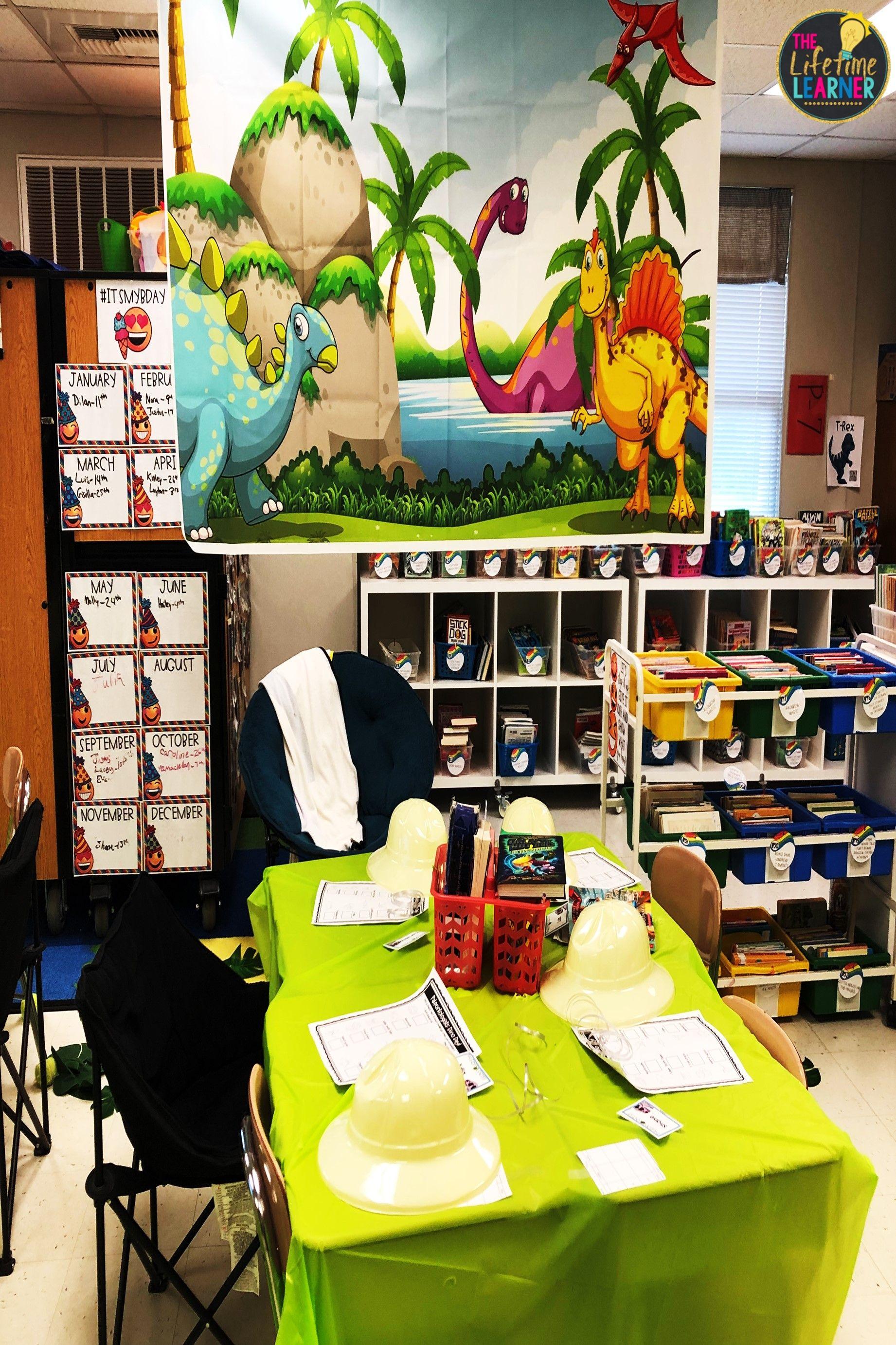 Dinosaur Classroom Transformation
