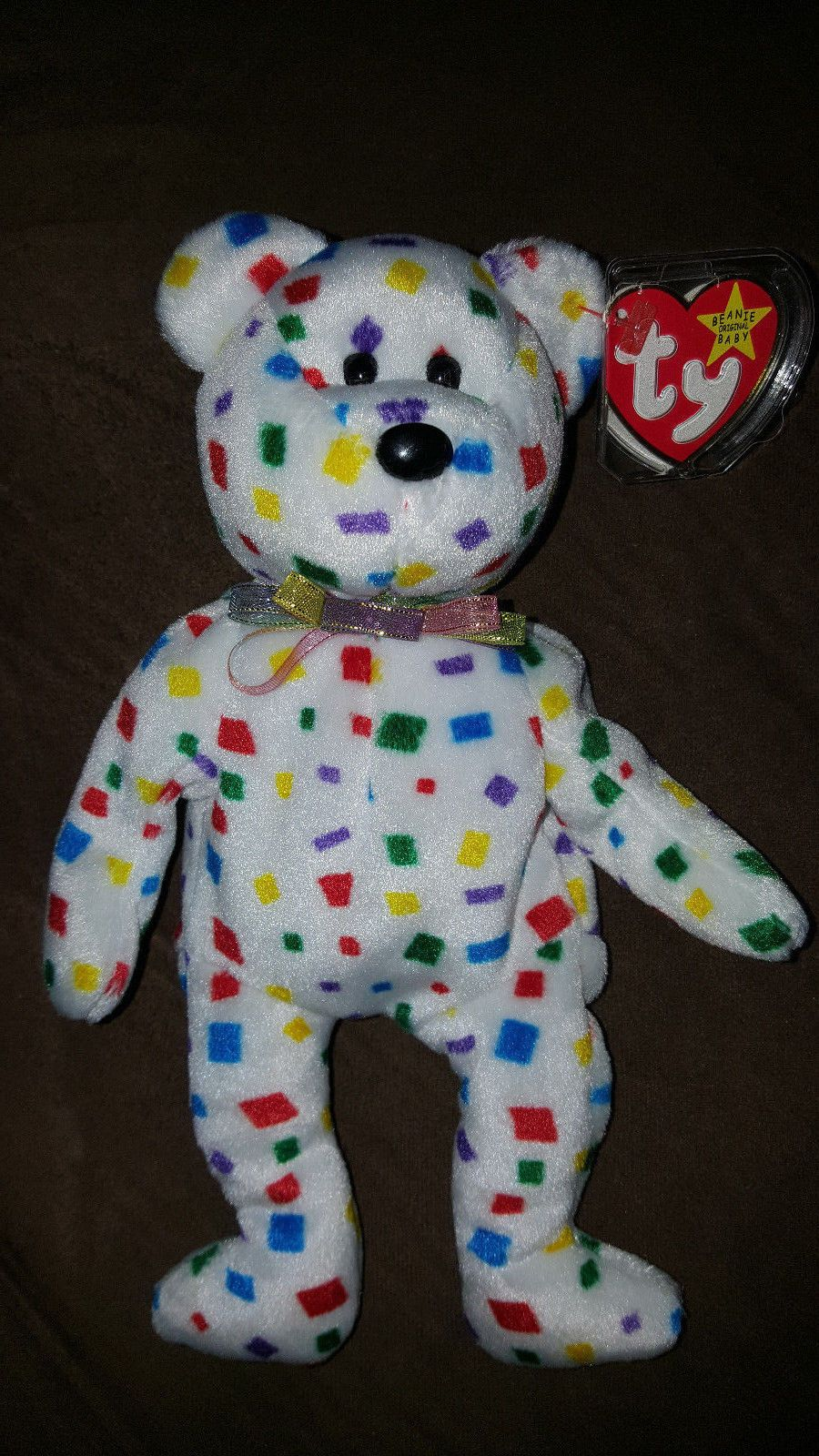 8f076289c6c TY 2k beanie baby  RARE    ERRORS on TAG TUSH TAG. Find this Pin and more  on Beanbag Plush ...