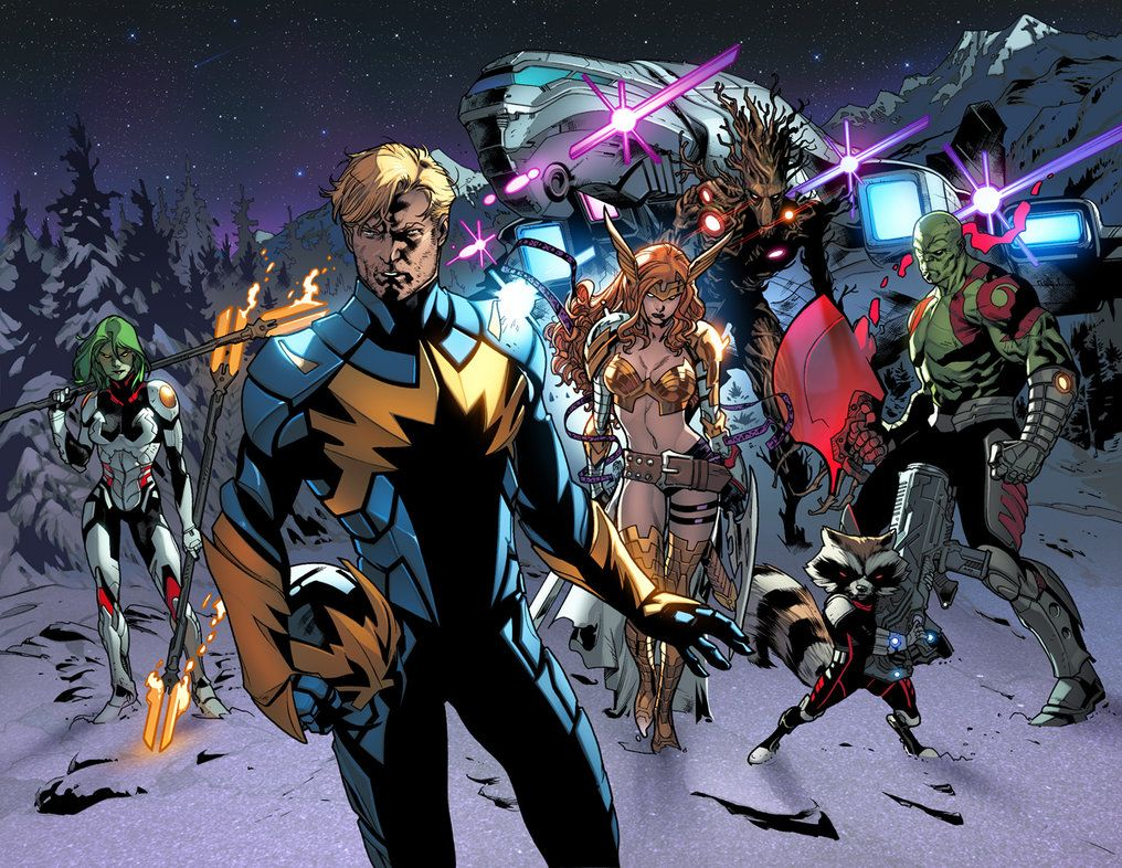 Guardians Of The Galaxy Earth 616 Galaxy Comics Guardians Of The Galaxy Marvel Comic Character