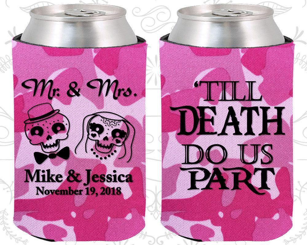 Till Death Do Us Part, Sugar Skull Wedding Favors, Day of the Dead ...