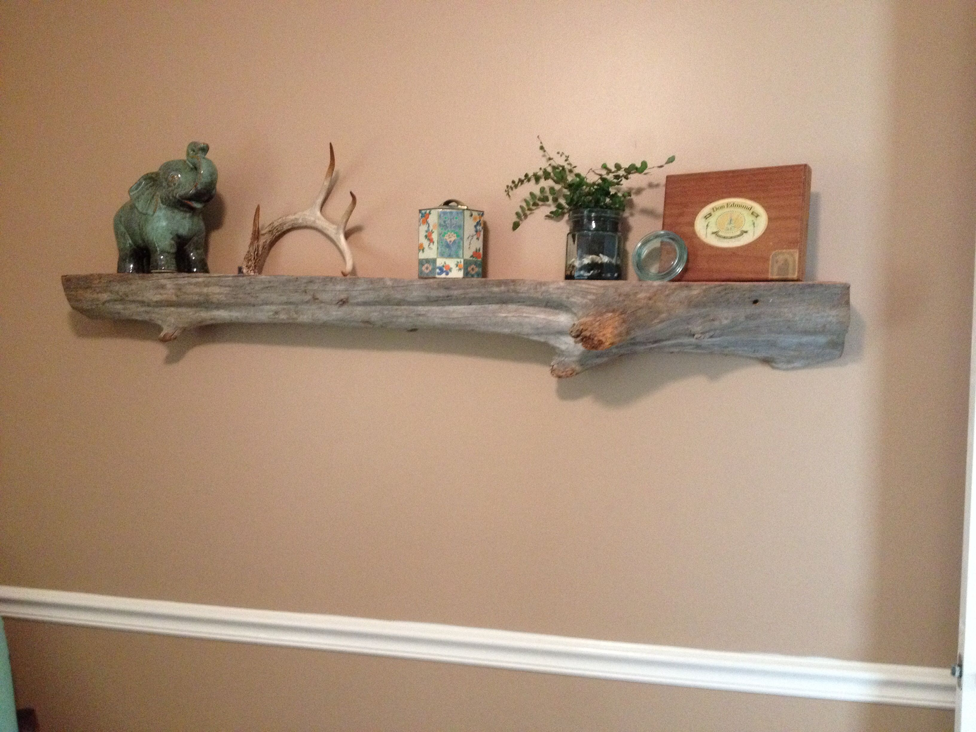 Driftwood Wall Shelf