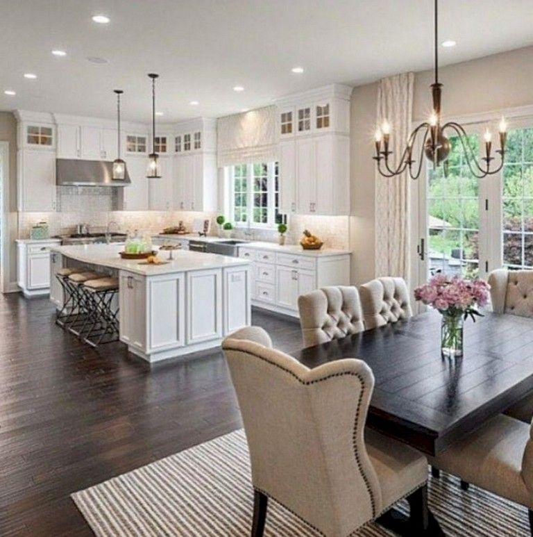 41 Comfy White Kitchen Dark Floors Ideas White Kitchen Dark Floors Home Kitchens Home Decor Kitchen