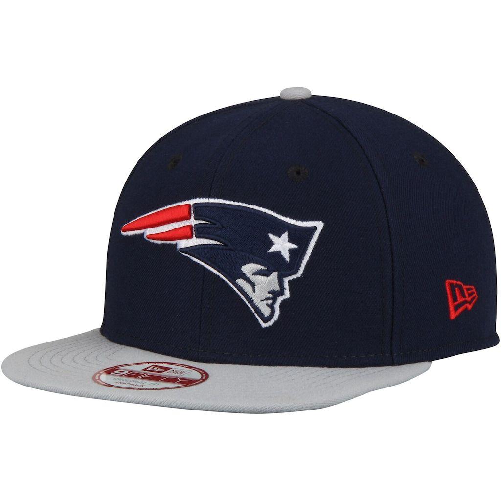New Era NFL New England Patriots Patch Original Fit 9Fifty Snapback