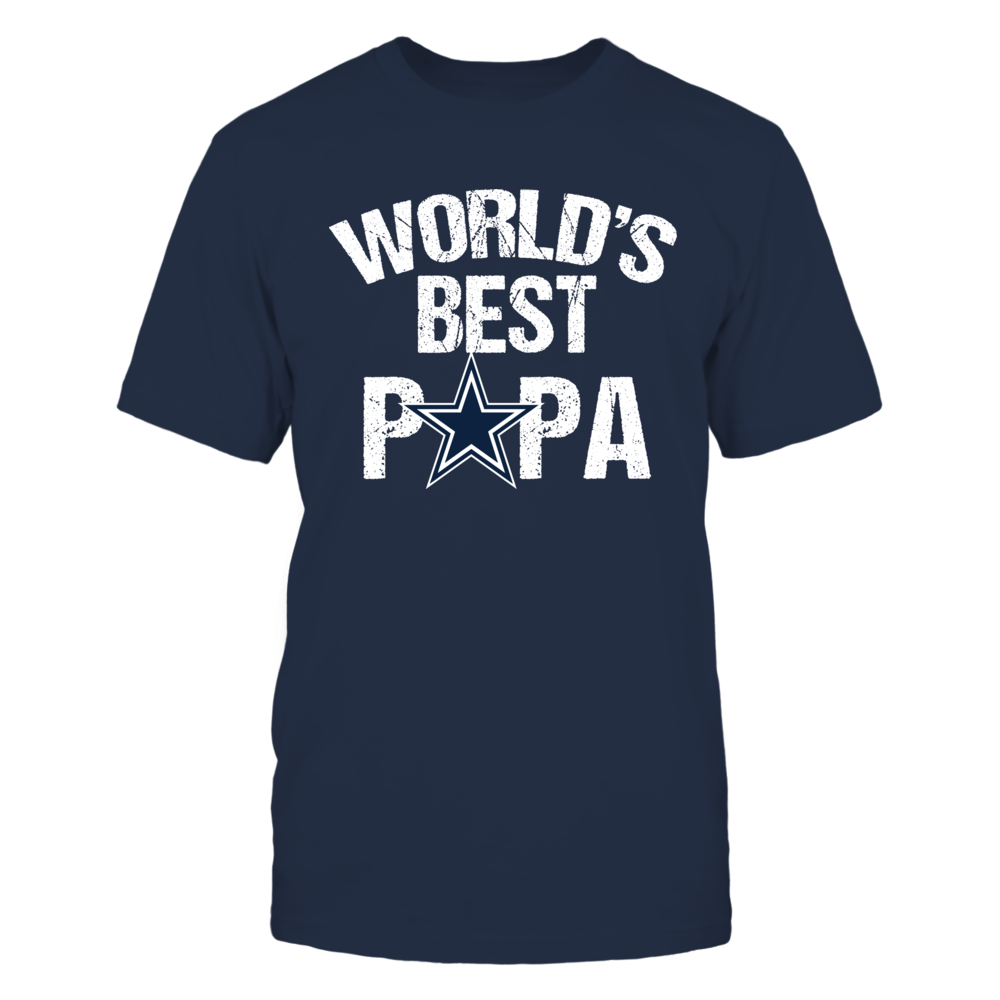 Dallas Cowboys World\'s Best Papa T-Shirt, A great Dallas Cowboys ...