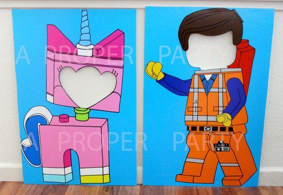 lego lego party photo booth cutout prop lego birthday lego