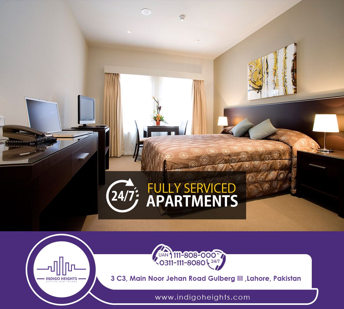 Indigo Heights Presents Fully Serviced Apartments That Are Perfect For Corporate Executives Short Stays Tempo Luxury Apartments Temporary Housing Hotels Room