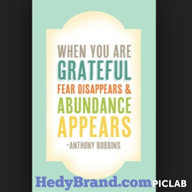 #grateful #nofear #abundance #anthonyrobins #tonyrobins #motivation #entrepreneurmindset