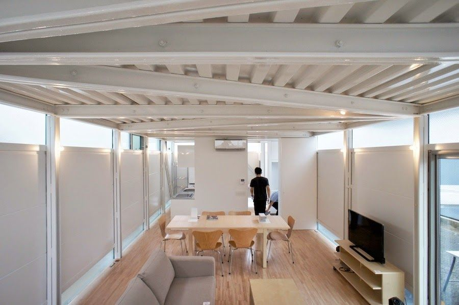japan-architects.com: Niji Architectsによる「LGS HOUSE #01/ボーダーの家」