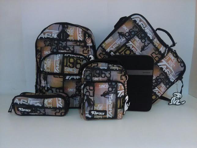 una amplia gama en   maletas, mochilas y complementos