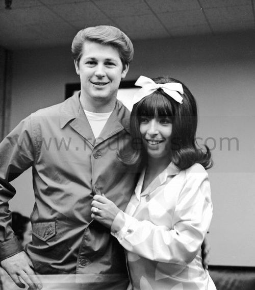 Brian Wilson and Marilyn Rovell (of The Honeys and later