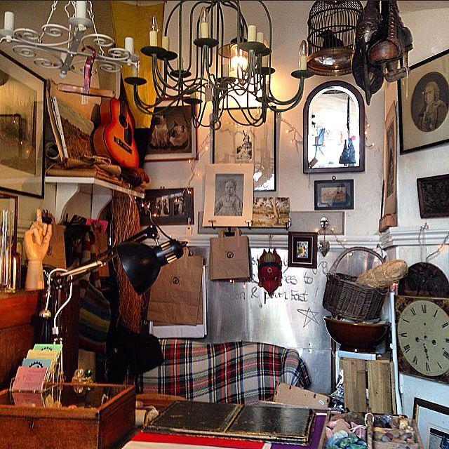 Arcade shops in old town Hastings #arcade#hastings