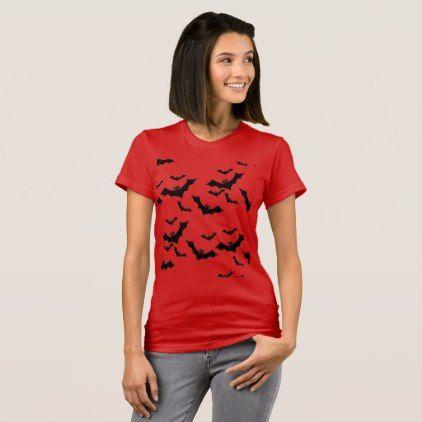 flock of bats T-Shirt - animal gift ideas animals and pets diy customize