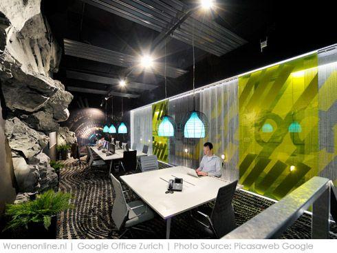 amazing google office zurich. Binnengluren Bij: Google Zürich #inspiratie #kantoorinrichting #interieur Amazing Office Zurich