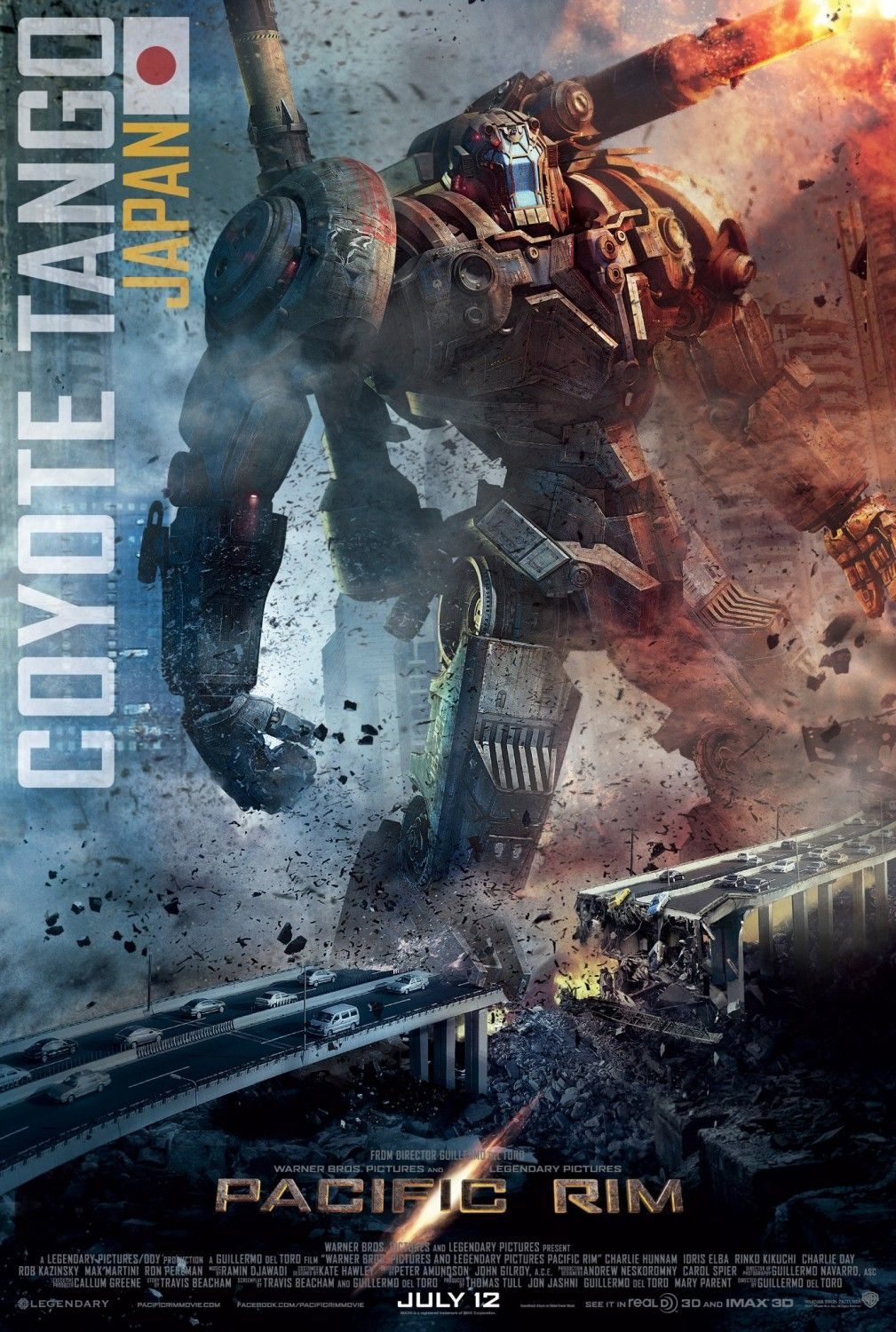 New Pacific Rim movie poster! Coyote Tango - Japan