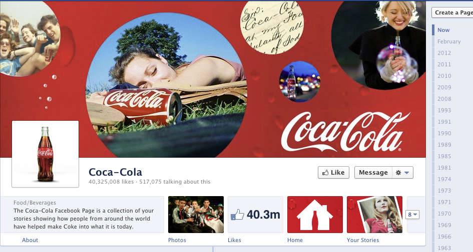 Facebook Timeline Covers  Examples And Best Practices  Funny