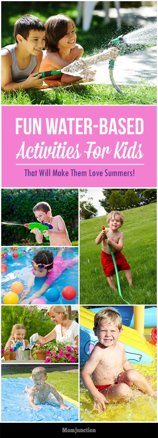 Introduce Your Kid To These Fun Water-Based Activities, And Their Summer Will Never Be The Same Again!