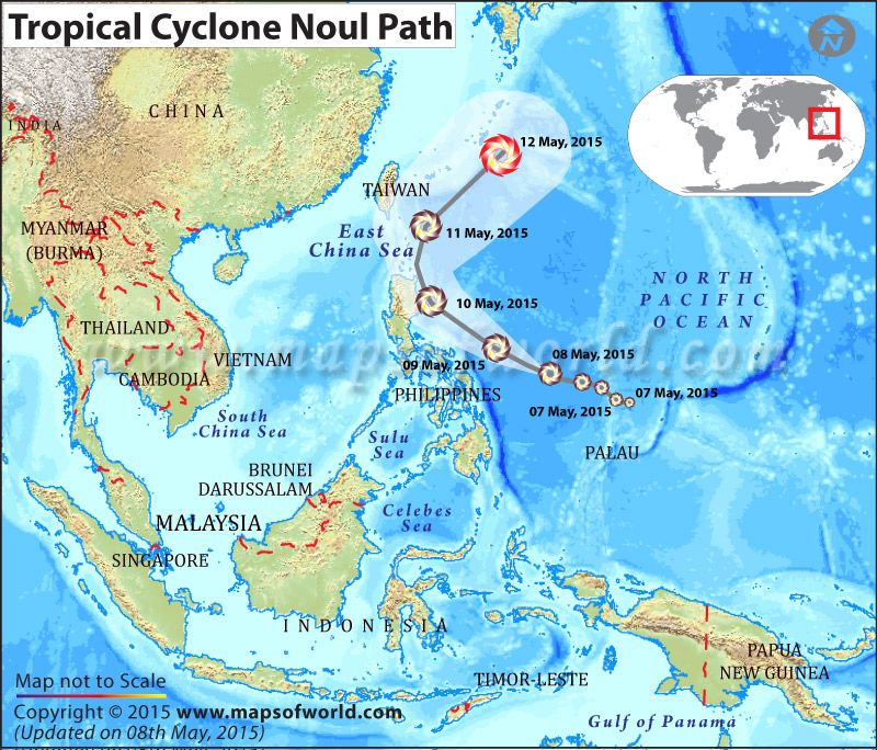 Philippines braces for Typhoon #Noul; landslides, flash floods - new taiwan world map images