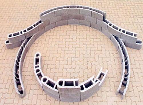 bloc de b ton courbe varibloc bip b tons blocs de b ton. Black Bedroom Furniture Sets. Home Design Ideas