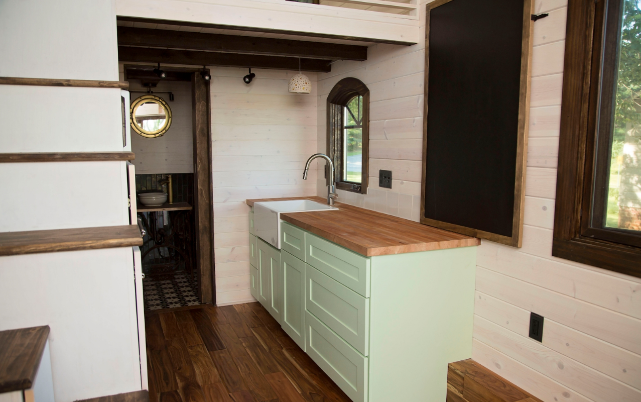 Old World Vermont Perch Nest Tiny Home