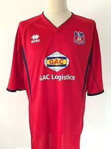 52e12dbe4 CRYSTAL PALACE Football Shirt AWAY ERREA Size 5XL Red