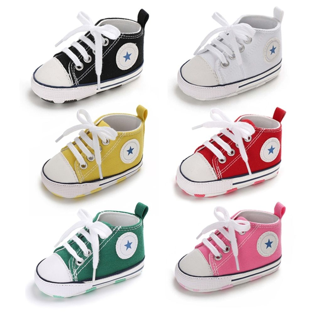 Toddler Baby Baby Girl Shoes Fall Soft Botton Crib Anti-slip First Walker Shoes