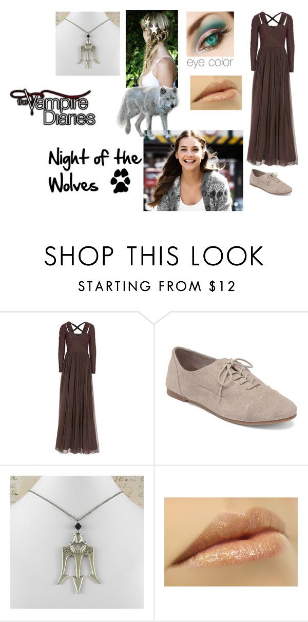 """Night of the wolves"" by lostprincessofthesea ❤ liked on Polyvore featuring Andrew Gn and Lucky Brand"