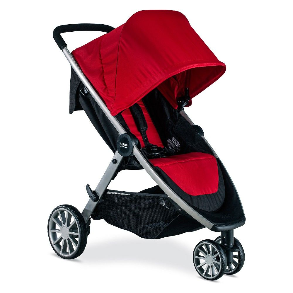 Britax BLively Stroller Cardinal Stroller, Baby
